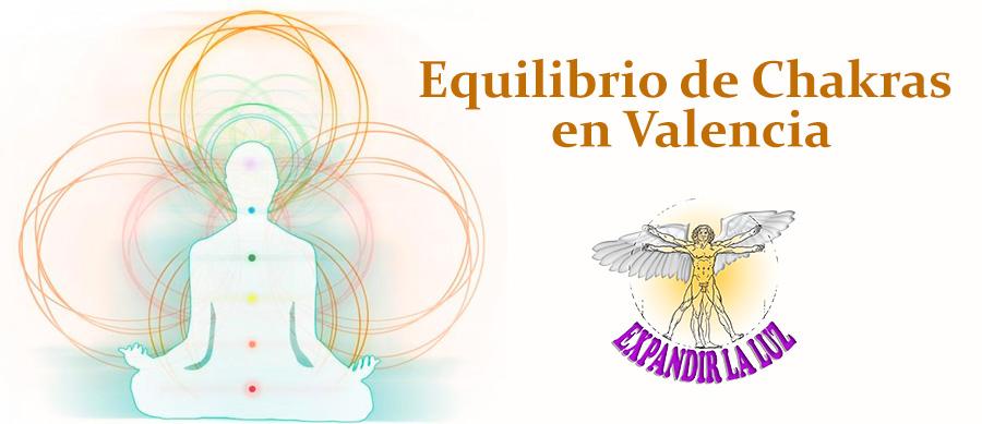 Chakras y su equilibrio en Valencia con Expandir la Luz